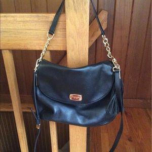 680034c3ed9e Michael Kors Bags | Milo Wool Knit Purse Crossbody Euc | Poshmark